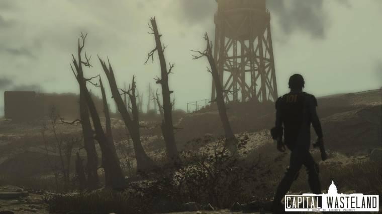 Új traileren leshetjük meg a Fallout 4-be átültetett Fallout 3-at bevezetőkép