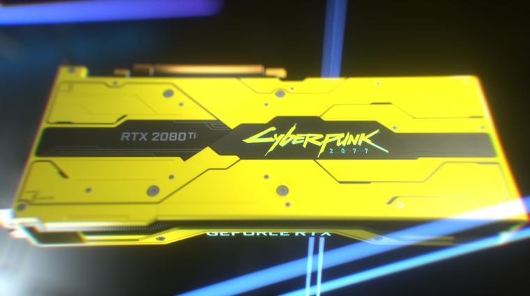 Nem húzták tovább, leleplezték a GeForce RTX 2080 Ti Cyberpunk 2077 Editiont bevezetőkép