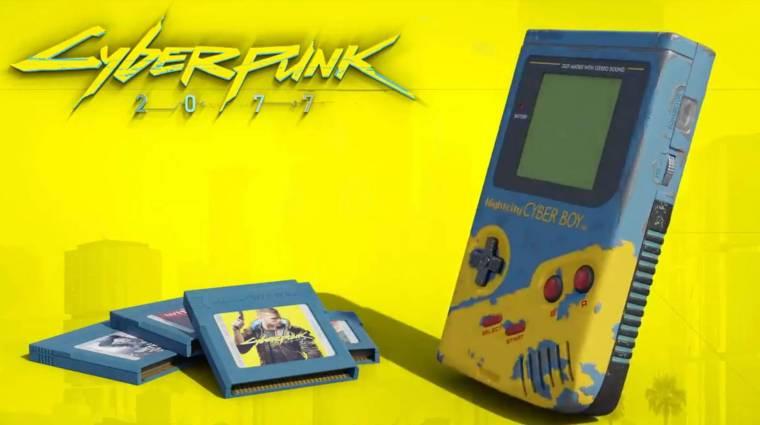 Valami egészen ütős sült ki a Cyberpunk 2077 és a Game Boy találkozásából bevezetőkép