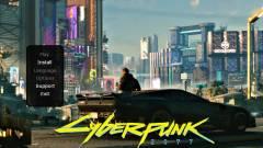 A Cyberpunk 2077 PC-s indulásával le is térdelt a Steam és a GOG kép
