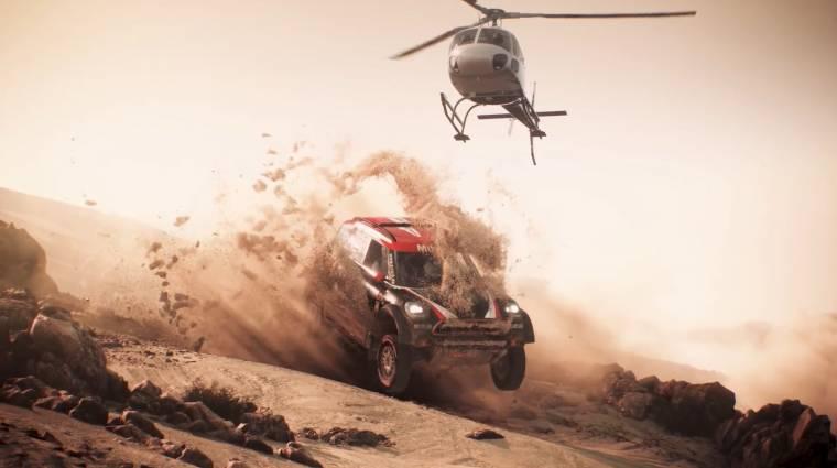 Dakar 18 - hivatalos játékban szelhetjük a sivatagot bevezetőkép