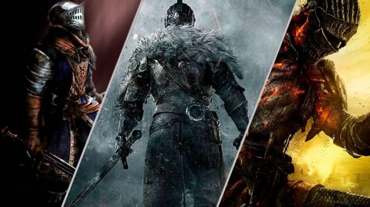 Így még soha senki nem vitte végig a Dark Souls játékokat bevezetőkép