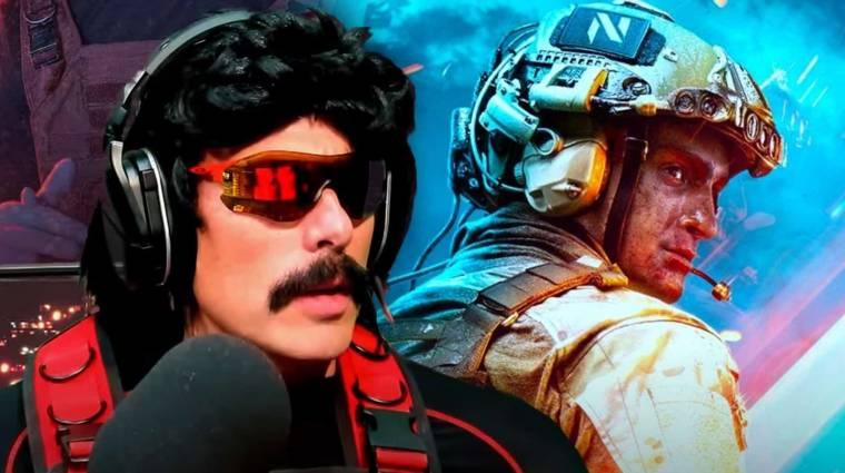 Dr Disrespectnek máris gondja van a Battlefield 2042-vel bevezetőkép