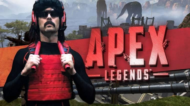 Dr Disrespect szerint az Apex Legends is unalmas már bevezetőkép