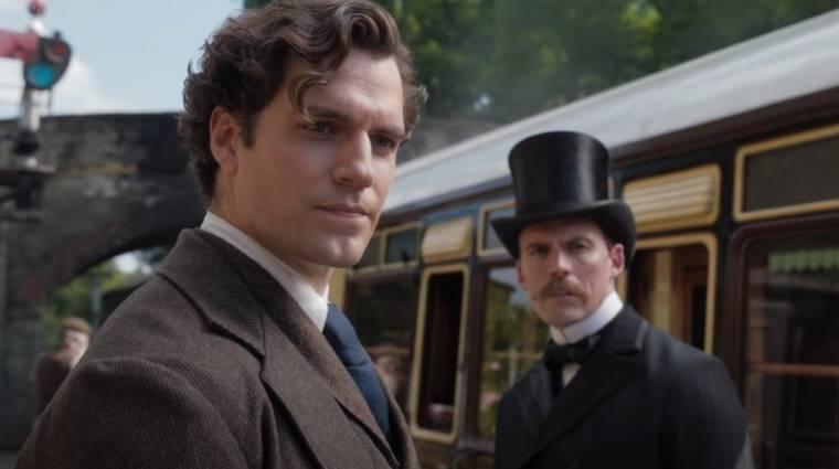 Henry Cavill merőben más Sherlock lesz az Enola Holmes-ban kép