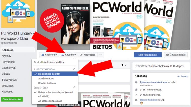 cb0fa79df6 Tipp: így uralhatod a Facebook változásait - PC World