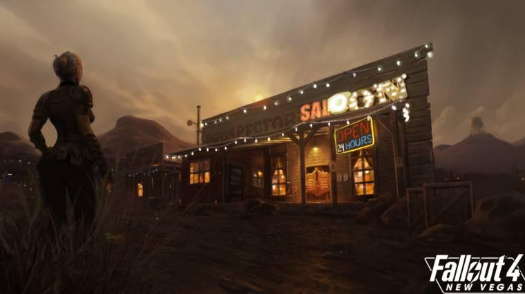 Fallout 4 - szépen halad a New Vegas mod, új videót is kaptunk bevezetőkép
