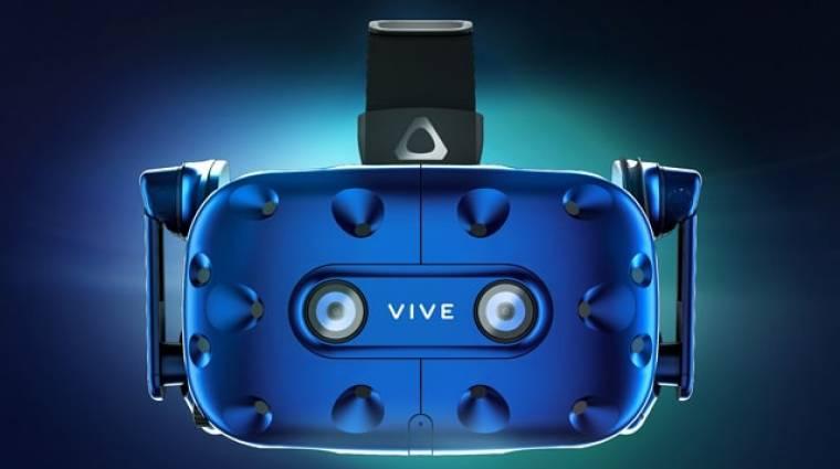 HTC Vive Pro - szebb képpel, fejhallgatóval jön az új headset bevezetőkép
