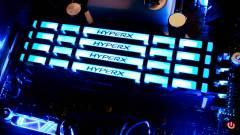 RGB-s HyperX memóriák érkeztek infravörös turbózással kép
