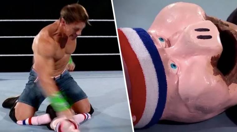 John Cena az eddigi legszürreálisabb Wrestlemania meccsen alulmaradt egy bábbal szemben bevezetőkép