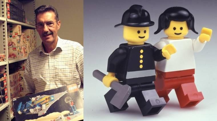 Meghalt a férfi, akinek a LEGO-figurákat köszönhetjük bevezetőkép