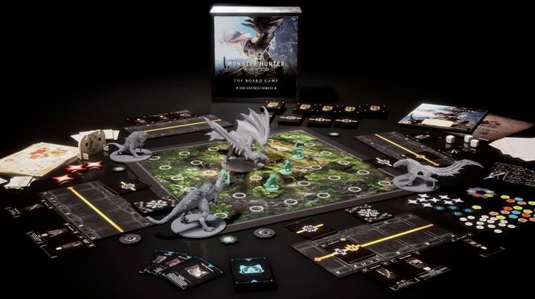 Ezeket rejti majd a Monster Hunter World társasjátékának doboza bevezetőkép