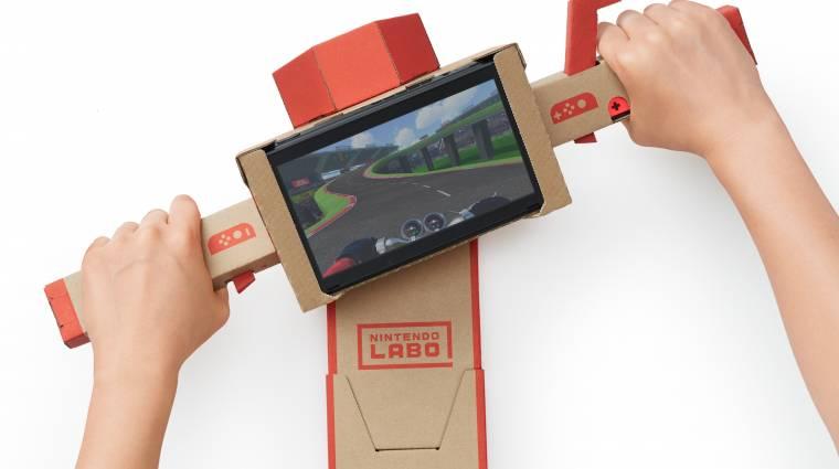 A Nintendo Labo nem csak a gamerekre lesz hatással bevezetőkép