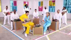 Nintendo Labo-s hangszerekkel zenélt Ariana Grande és Jimmy Fallon kép