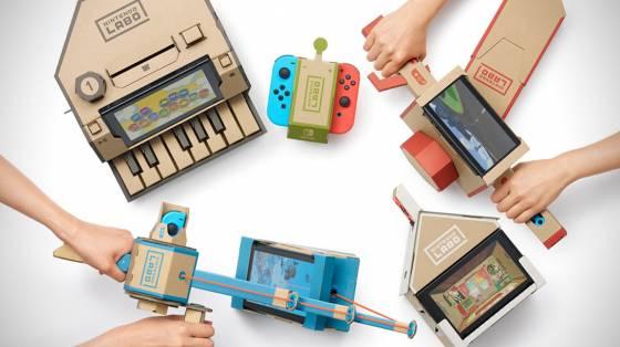 Nintendo Labo infódoboz