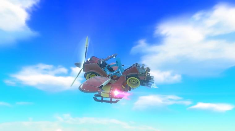 Nintendo Labo - kormányt építhetünk a harmadik csomaggal bevezetőkép
