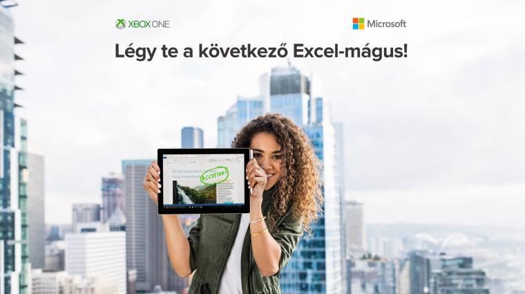 Excel tudásoddal most Xbox One X-et nyerhetsz! bevezetőkép
