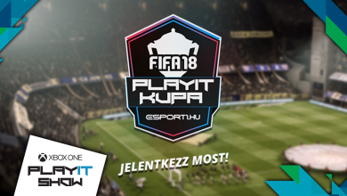 Háromszázezer forintos összdíjazású FIFA 18 kupa lesz a budapesti PlayIT-en