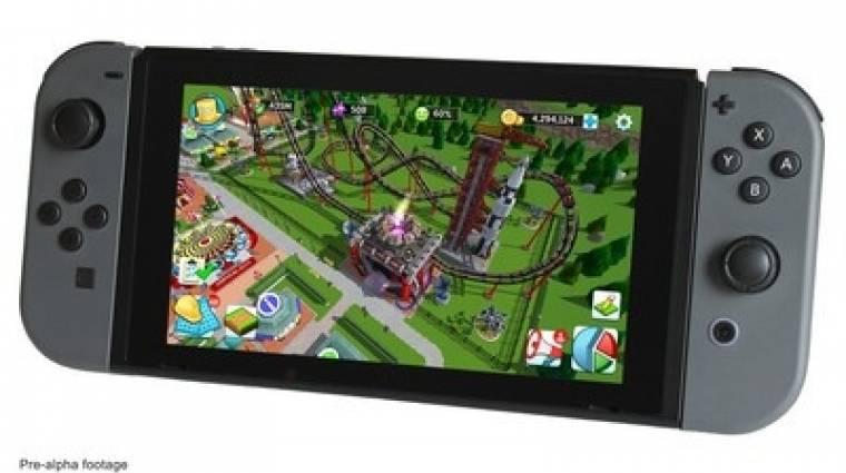 RollerCoaster Tycoon - akkor jön Switchre, ha lesz elég befektető bevezetőkép