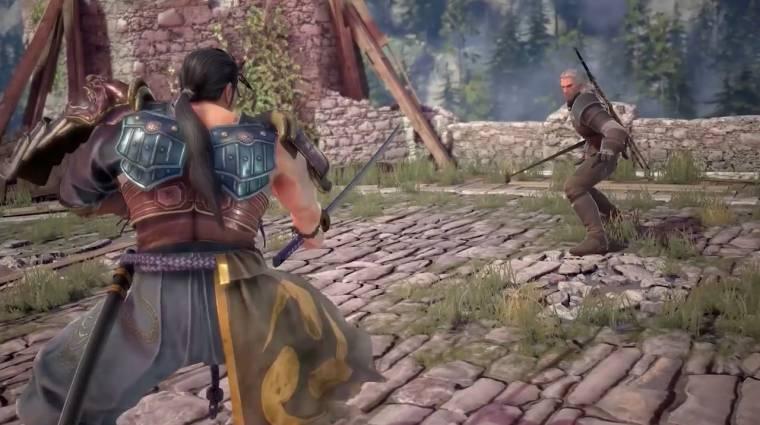 Soulcalibur VI - végre láthatjuk, hogyan küzd Geralt bevezetőkép
