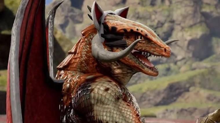 Soulcalibur VI - íme Wizard Lizard, a közönség által készített karakter bevezetőkép