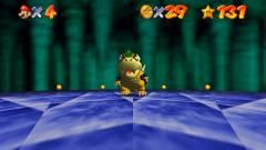 Már belső nézetben is játszható a Super Mario 64 kép