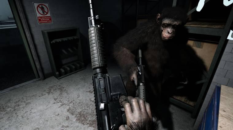 Crisis on the Planet of the Apes gépigény - ilyen vas kell a VR-majomkodáshoz bevezetőkép