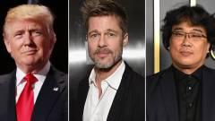 Trump keményen beleállt az Élősködők moziba és Brad Pittbe, a forgalmazó válasza nem maradt el kép