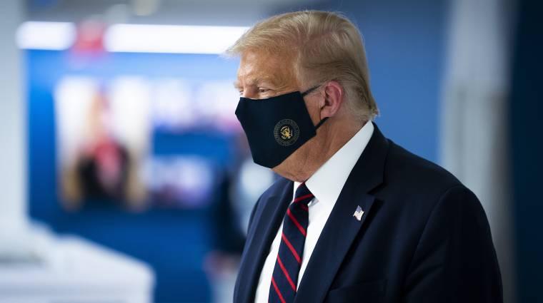 Trump Twitteren jelentette be, hogy elkapta a koronavírust kép