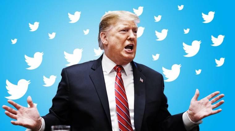 Donald Trump gratulált Nigériának a Twitter kitiltása miatt kép