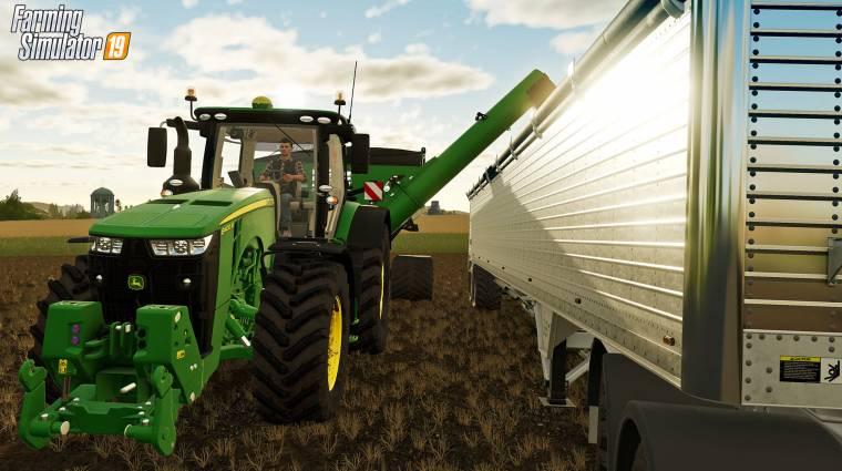 Farming Simulator 19 - fontos mérföldkövet léptek át az eladások bevezetőkép
