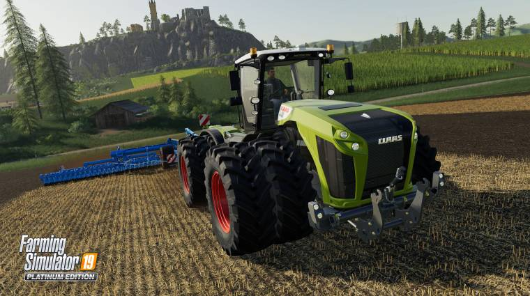 Farming Simulator 19 - dögös trailer vezeti fel a Platinum kiegészítőt bevezetőkép