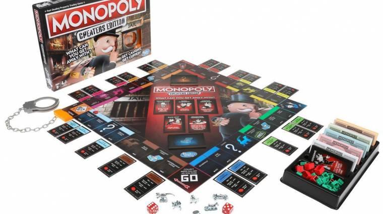A Monopoly legújabb kiadásában kötelező csalni bevezetőkép