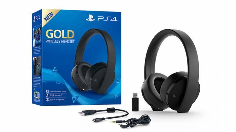 Új változatban jön a PS4-es GOLD Wireless Headset bevezetőkép