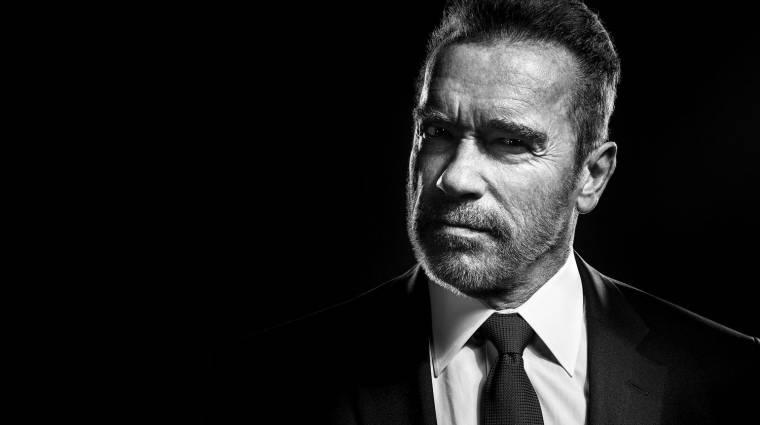 Schwarzenegger egy western sorozathoz csatlakozott kép