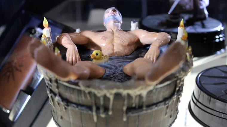 The Witcher 3 - nincs is jobb, mint a fürdőző Geralt szobra bevezetőkép