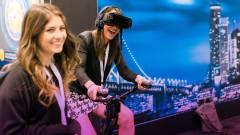 Már szobakerékpárral is irányíthatjuk a VR játékokat kép