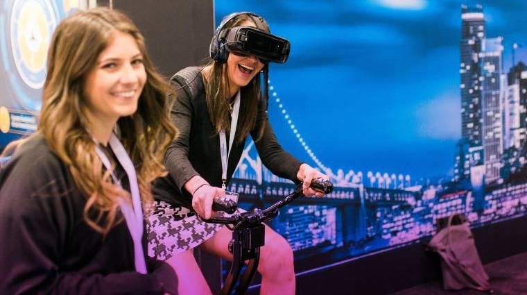 Már szobakerékpárral is irányíthatjuk a VR játékokat bevezetőkép