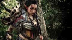 A World of Warcraft Mag'har orkjainak páncélja cosplayben is menő kép