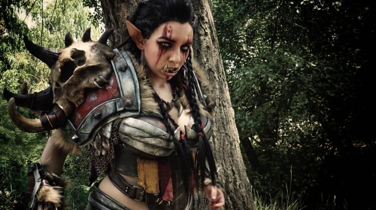 A World of Warcraft Mag'har orkjainak páncélja cosplayben is menő bevezetőkép