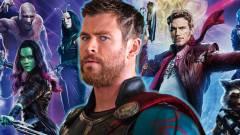 Thor találkozása az Őrzőkkel - Klipen a Bosszúállók: Végtelen háború kép