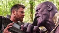 Előkerült egy Bosszúállók: Végtelen háború forgatási fotó, sosem volt még ennyire vicces Thor és Thanos összecsapása kép