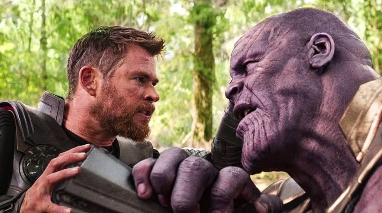 Előkerült egy Bosszúállók: Végtelen háború forgatási fotó, sosem volt még ennyire vicces Thor és Thanos összecsapása bevezetőkép