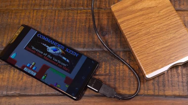 Így játszhatsz a mobilodon régi játékokat floppy lemezről kép