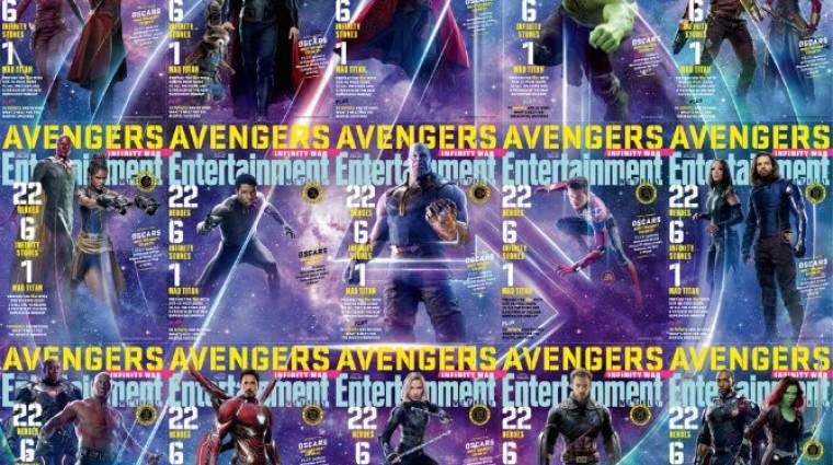 Címlapon feszítenek a Bosszúállók: Végtelen háború hősei kép