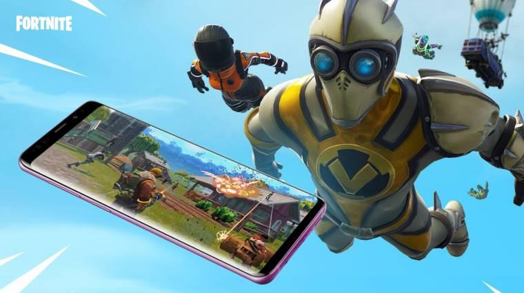 Fortnite - mostantól bárki játszhat Androidon bevezetőkép