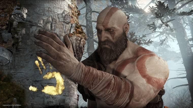 God of War - fejlesztői kommentárral jött az új gameplay bevezetőkép