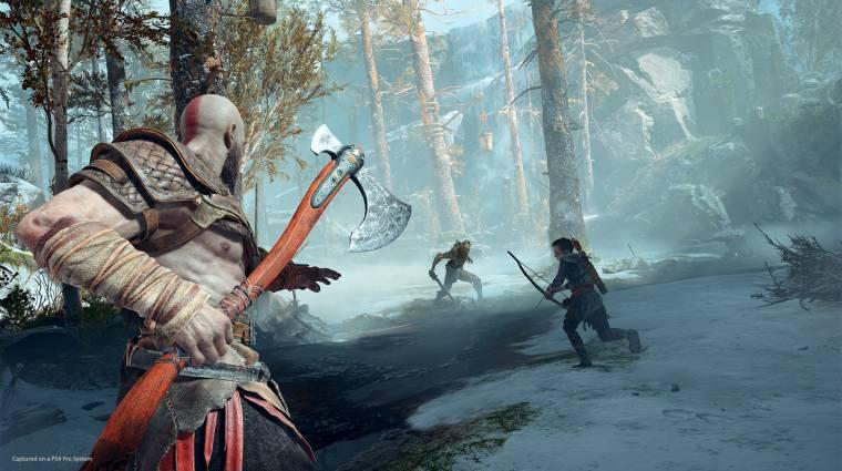 God of War - magasabb framerate-et kaphatnak, akik nem 4K-s kijelzőn játszanak bevezetőkép