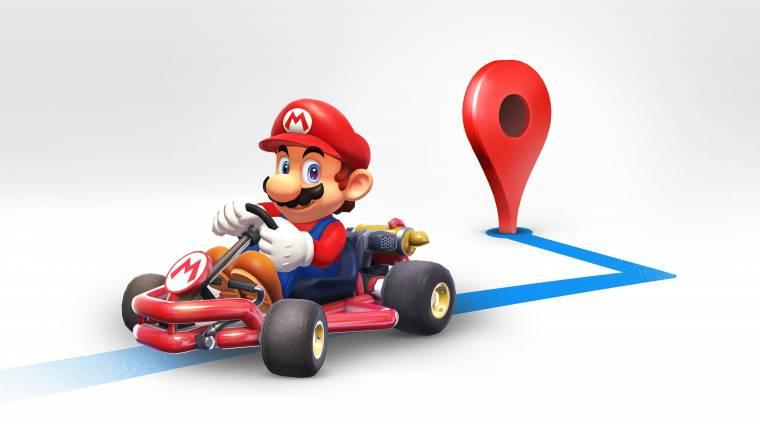 Ma Mario átveszi a Google Maps irányítását bevezetőkép