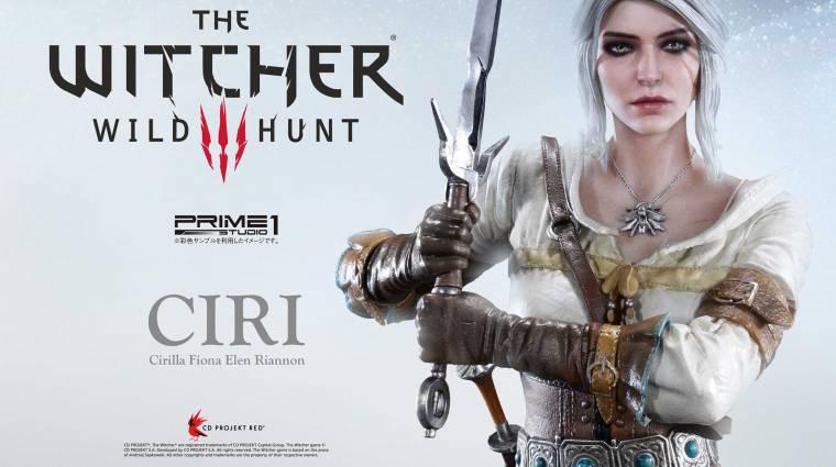 The Witcher III - adnál közel 200 ezer forintot ezért a Ciri szoborért? bevezetőkép